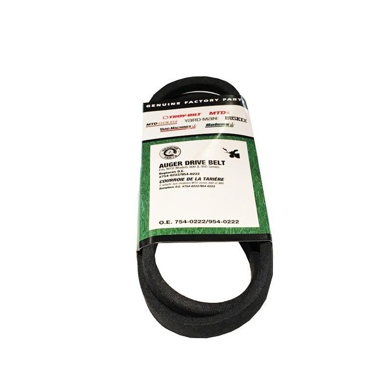 Auger belt Mtd 754-0222A 754-0222A Belts
